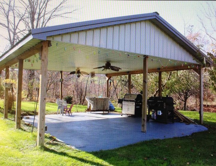 Ideas for a covered outdoor shelter area | Hometa