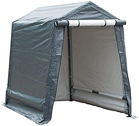Amazon.com: Abba Patio Outdoor Storage Shelter with Rollup Door .