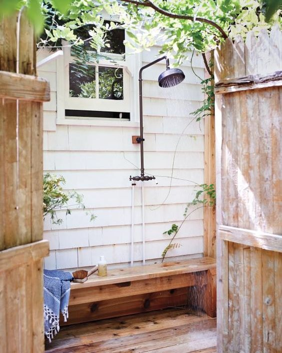 10 Refreshing Outdoor Shower Ideas and DIY Projects - Rhythm of .