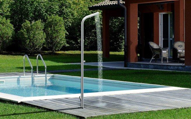 ᐈLuxury 【Aquatica Gamma-515 Freestanding Outdoor Shower】 Best .