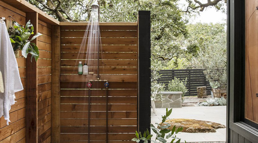 Great Outdoor Showers - Sunset Magazi