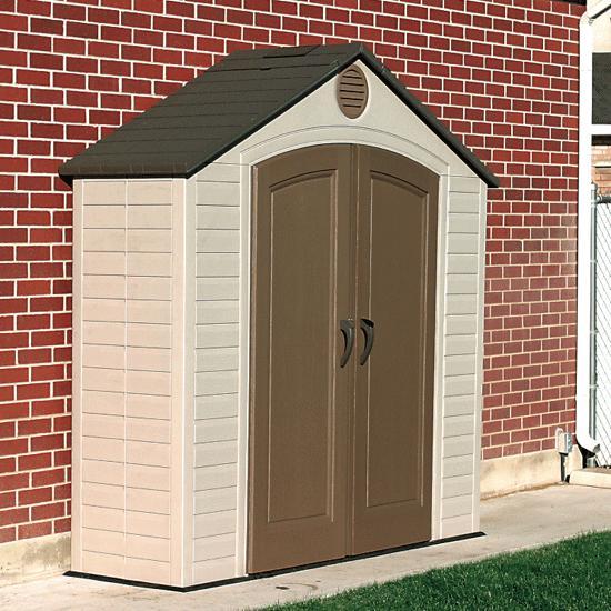LIFETIME® Outdoor Storage Shed - 8' x 5' | FlagHou