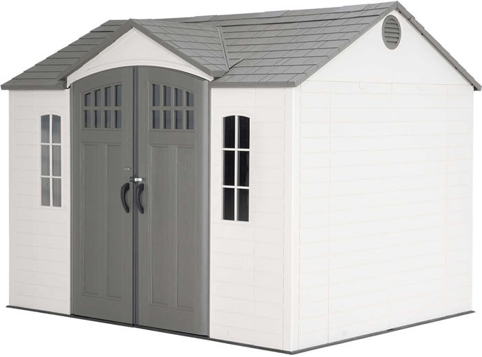 Lifetime 10x8 Outdoor Storage Shed Kit w/ Floor (6033