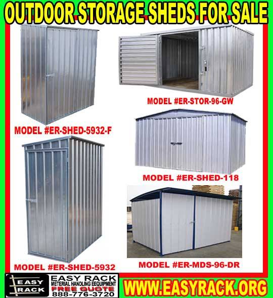 Metal Outdoor Metal Storage Sheds & Building Kits For Sale .