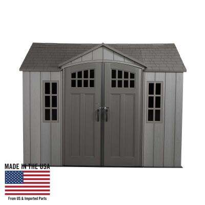 Lifetime 10 Ft. x 8 Ft. Outdoor Storage Sh