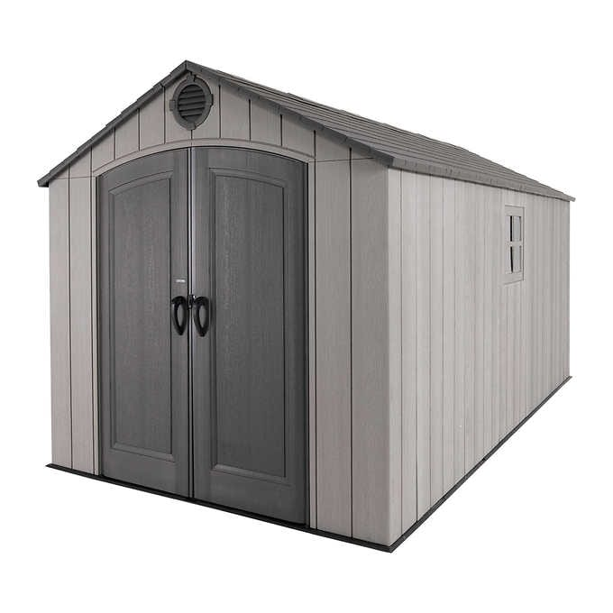 Lifetime 8' x 15' Outdoor Storage Sh