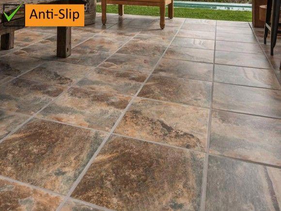 Kenya Anti Slip Kilimanjaro Tile | Tile floor, Flooring, Outdoor til