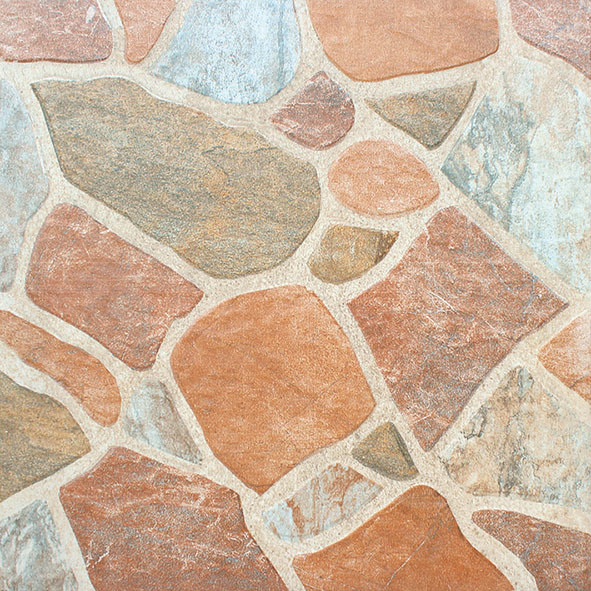 China 400X400 Slip-Resistance Ceramic Stone Floor Tiles for .