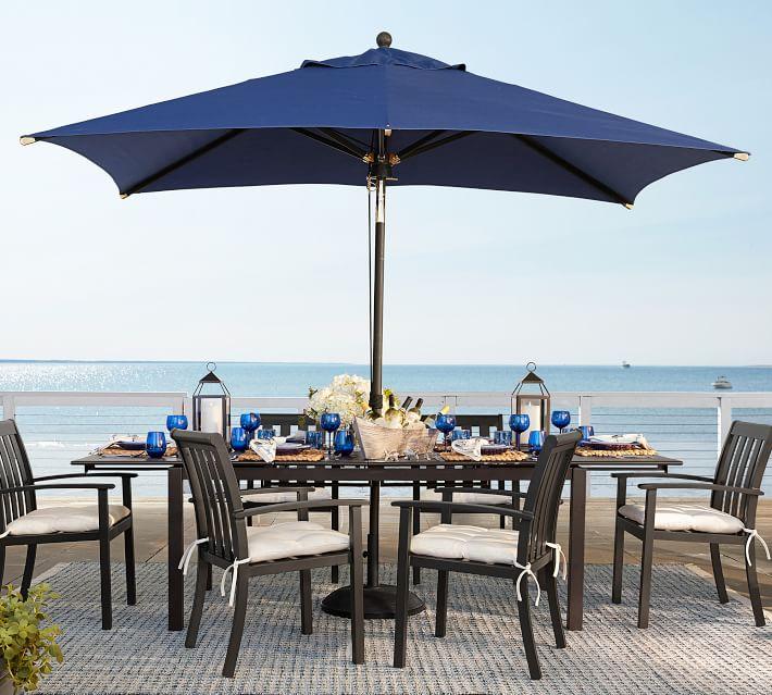 Premium Sunbrella® Rectangular Umbrella | Outdoor Umbrellas .