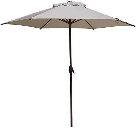 Amazon.com : Abba Patio 9ft Patio Umbrella Outdoor Umbrella Patio .