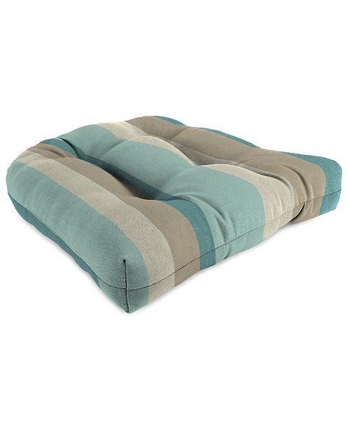 Jordan Manufacturing Outdoor Wicker Chair Cushions, Set of 2 .