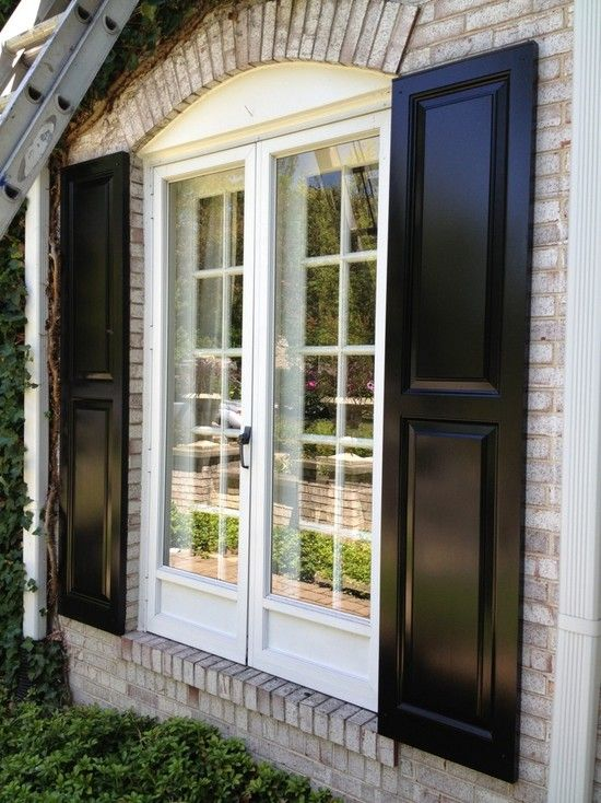 Exterior Shutters Design Ideas, Pictures, Remodel and Decor .