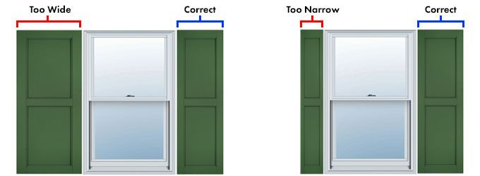 How to Measure for Exterior Shutters | Shutters exterior, Outdoor .