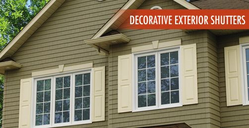 Decorative exterior shutters | Window shutters exterior, Window .
