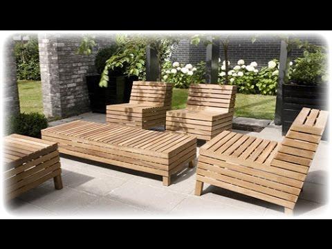 Outdoor Wood Furniture~Outdoor Wood Furniture Australia - YouTu