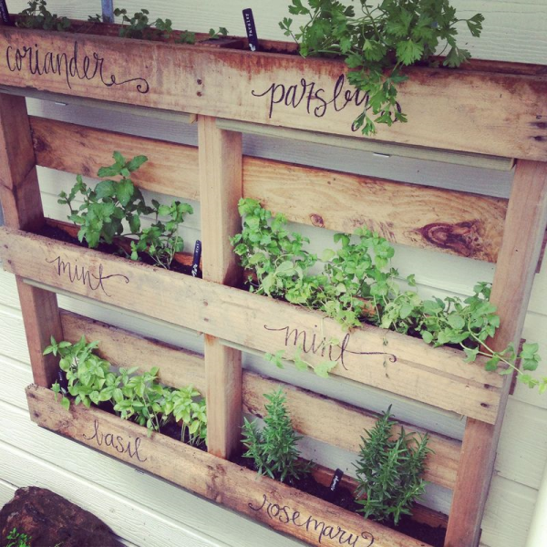 43 Gorgeous DIY Pallet Garden Ideas to Upcycle Your Wooden Palle