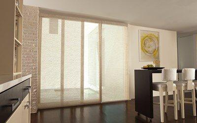 Levolor Fabric Sliding Panels | Blinds | AmericanBlinds.c