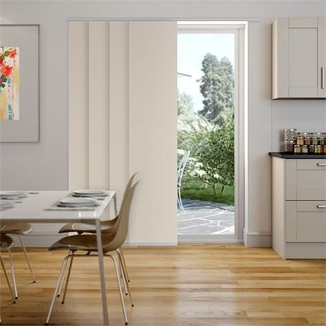 Serenity Cotton Panel Blind | Panel blinds, Contemporary decor .
