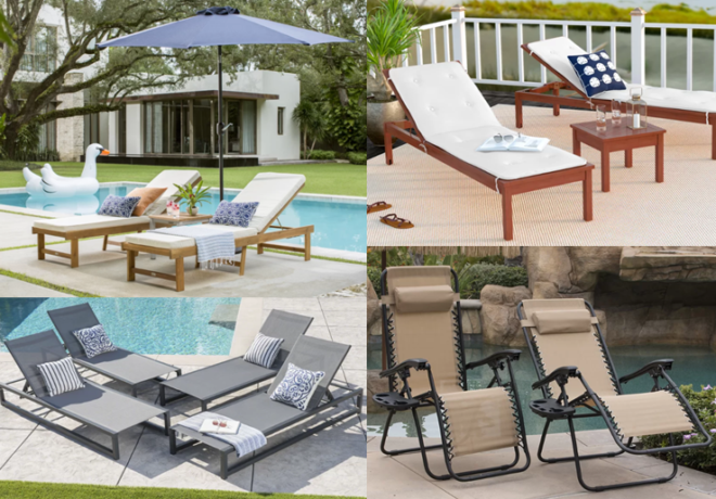 Patio Accessories Up to 70% Off (Chaises, Umbrellas & Lounge .