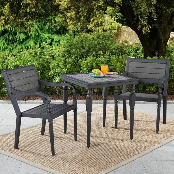 Better Homes & Gardens Hillsboro 3-Piece Patio Bistro Set .