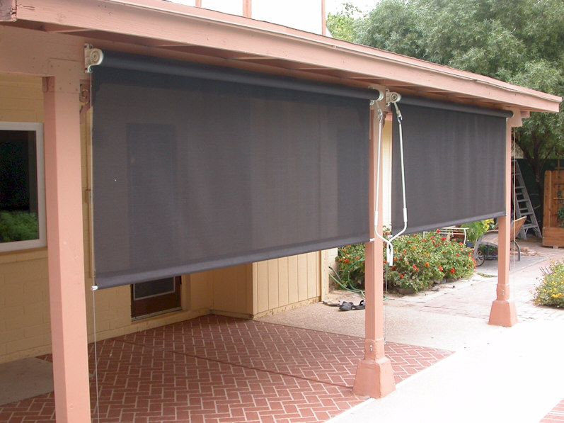 Patio Shades – Helps To Keep Your Home Cool – yonohomedesign.com .