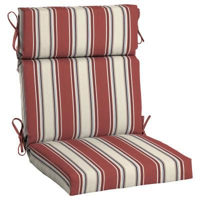 Highback - Hampton Bay - Outdoor Chair Cushions - Outdoor Cushions .