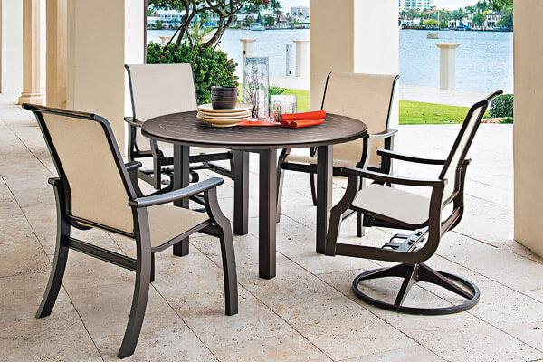 Outdoor Patio Furniture Albany NY - Aluminum & Wick