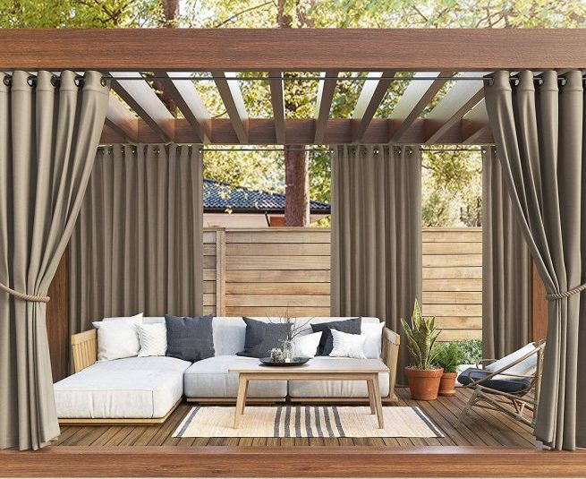 The Best Outdoor Patio Curtains for Your Backyard in 2020 | S
