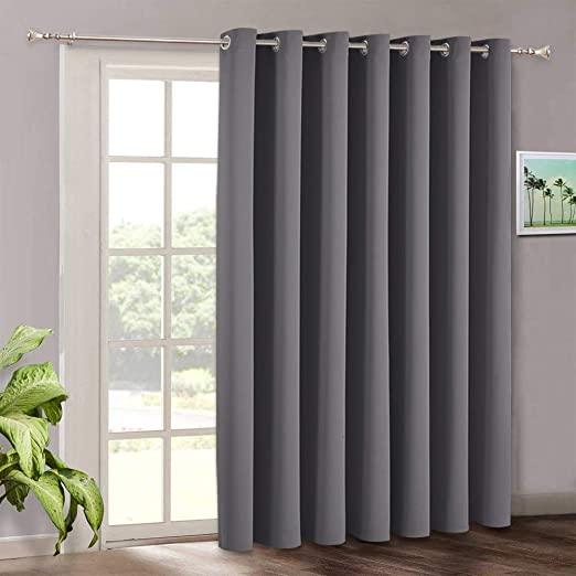 Amazon.com: Blackout Patio Door Curtains Bedroom - Home Decor .