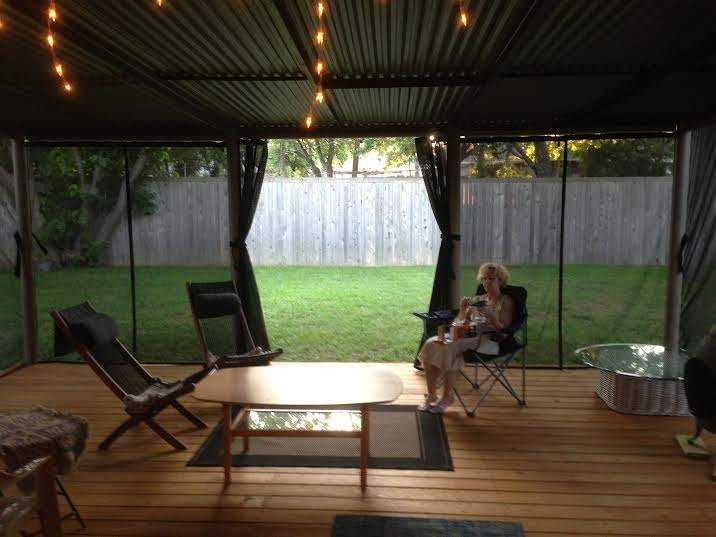 Mosquito Netting | Outdoor shade, Patio shade, Shade scre
