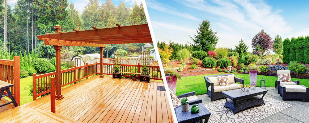 Deck vs. Patio: Which One is Right for You? | New American Fundi