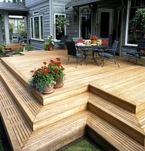 Reasons to Convert Your Wood Deck Into A Concrete Pat