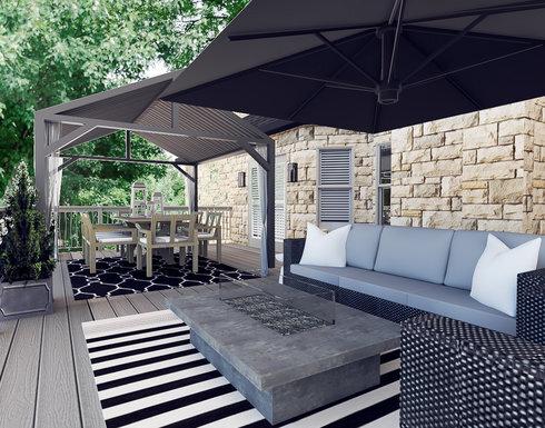 Modern patio Design Ideas | Decoril