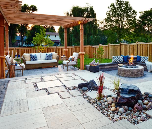 Backyard Patio Design Ideas - House & Ho