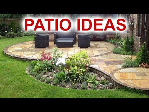 Patio Ideas - Beautiful Patio Designs For Your Backyard - YouTu