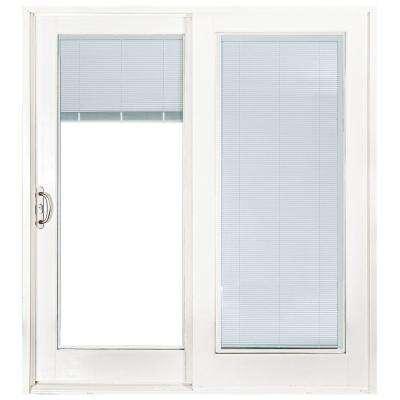 Left-Hand/Slide - Blinds Between the Glass - 72 x 80 - Patio Doors .
