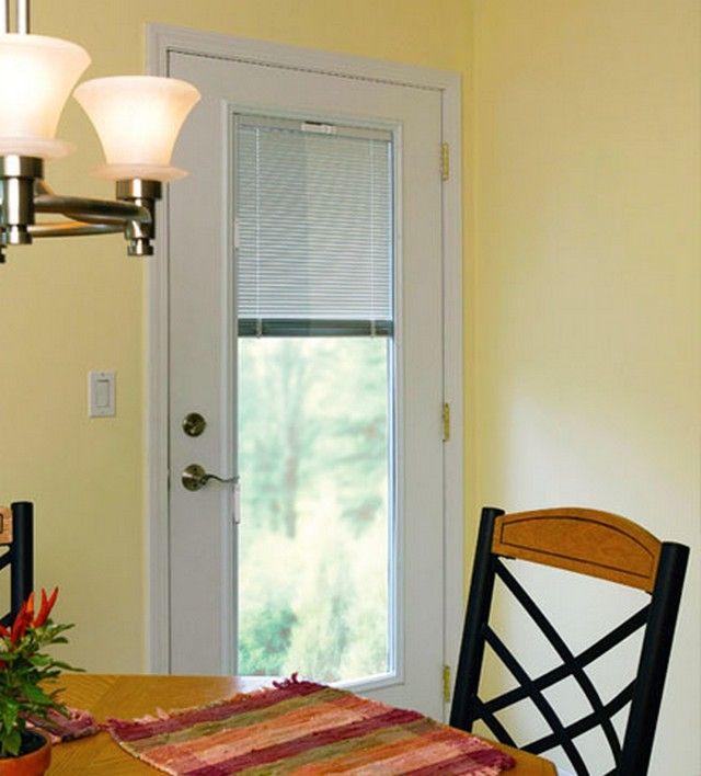 Single Patio Door With Blinds Between | Single patio door, Patio .