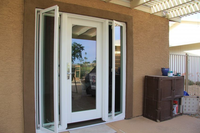 Creative HD » Houzz Magazine | Single patio door, French doors .
