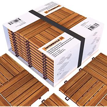 Amazon.com: Acacia Hardwood Deck and Patio Easy to Install .