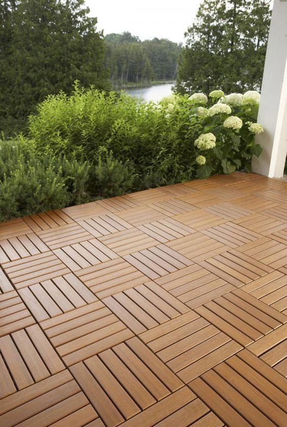 9 DIY Cool & Creative Patio Flooring Ideas • The Garden Glove .