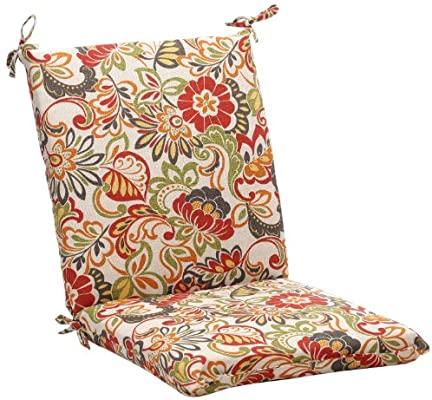 Amazon.com: Pillow Perfect Outdoor/Indoor Zoe Citrus Square Corner .