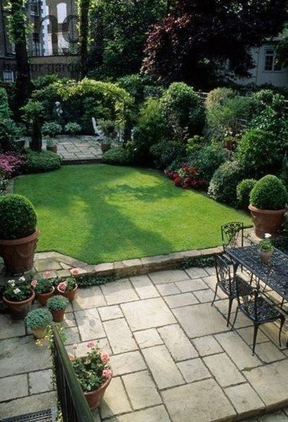 17+ Wonderful Backyard Landscaping Ideas | Small patio garden .