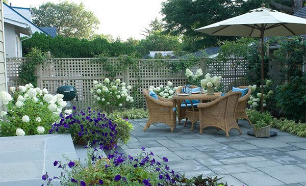 15 Patio Gardens for Outdoor Recreation | Home Design Lov