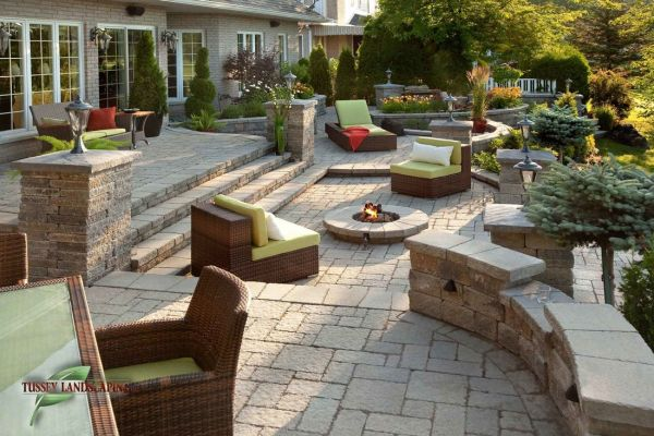 Patio Hardscaping: Concrete vs. Stamped Patio Pave