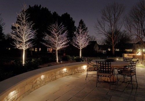 Patio Lighting | Outdoor patio lights, Backyard lighting, Garden .