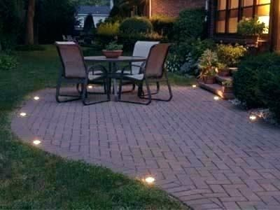 patio brick lights brick patio lighting ideas patio brick wall .