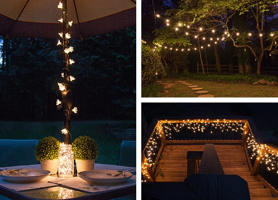 Outdoor and Patio Lighting Ide