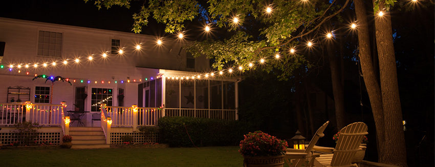 Patio Lights - Yard En