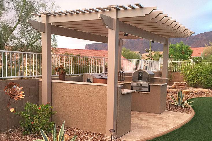 Small Pergola Ideas: Pergola Designs for Patios & Backyards | Shop .
