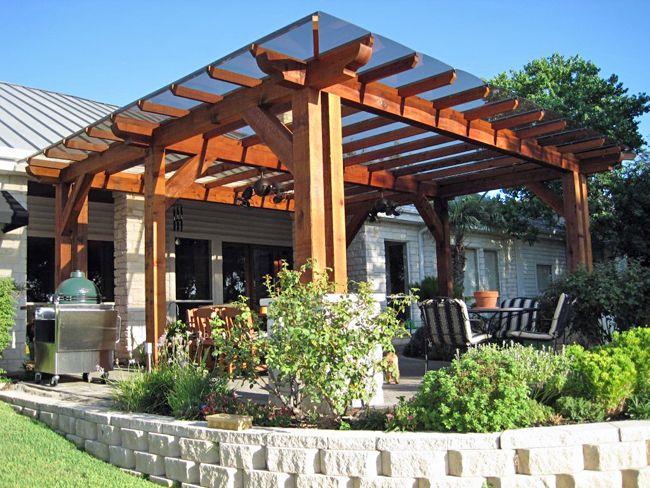 pergola patio cover … | Outdoor pergola, Backyard patio, Patio trell